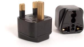 Samsonite el-adapter kit för US & UK