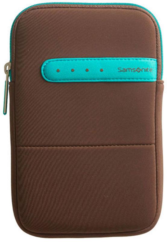 Samsonite ColorShield Sleeve 7 tum Brown/Turqouise