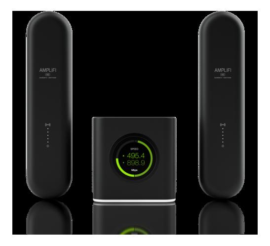 Ubiquiti AmpliFi Gaming Wi-Fi Router incl 2xMesh Points