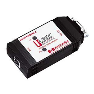 B+B U-Linx USB-Serie 1 port RS232 Isolerad DB9m