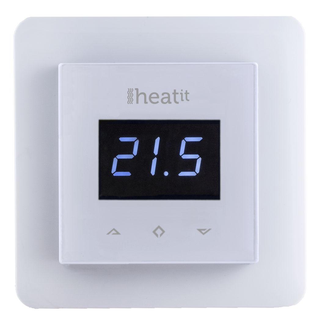 Heatit Z-Wave wall termostat - White