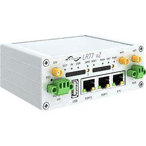 B+B SmartWorx LR77 4G LTE Router Full WiFi metall