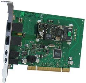 MultiTech MT9234ZPX-UPCI PCI V.92-modem voice