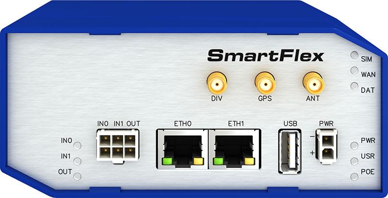 B+B SmartFlex 4G LTE Router plast