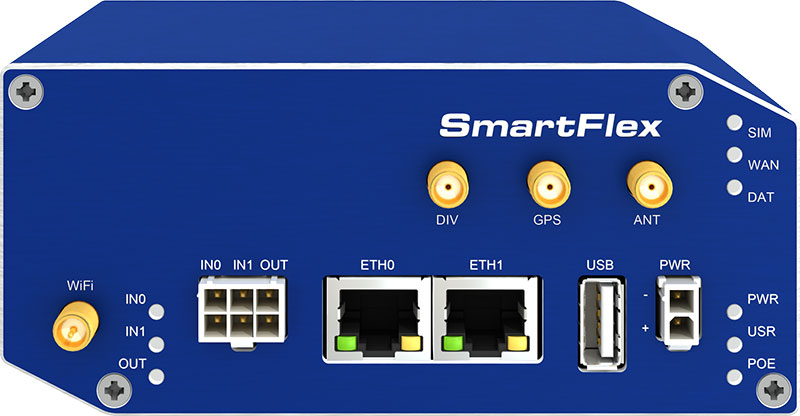 B+B SmartFlex 4G LTE Router WiFi metall