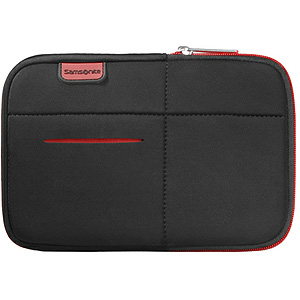 Samsonite Airglow Tablet Case 7 tum svart/röd
