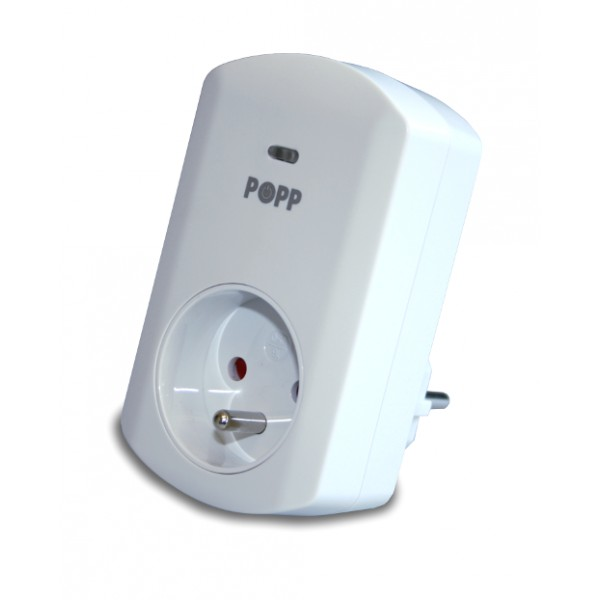Popp Z-Wave Wall Plug Dimmer Type E