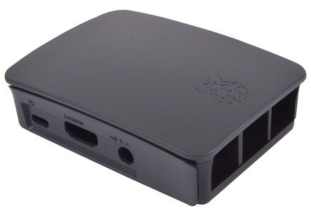 Official Raspberry Pi 3 Model B, 2 B, B+ Development Board Case, Black, Grey