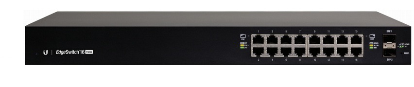 EdgeSwitch 16 GE ports 150W POE af-at-passive24
