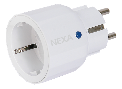 Nexa, Z-Wave Plug-in mottagare dimmer för vägguttag, vit