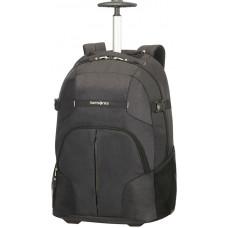 Samsonite Rewind Lapt Backpack Wheels 16 tum Black