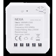 Nexa dosrelä, timerfunktion, MWMR-2300 Brytare