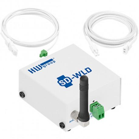 HWg SD monitoring unit Water leak detection set