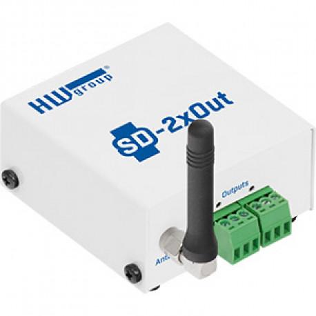 HWg SD monitoring unit 2 digital output set
