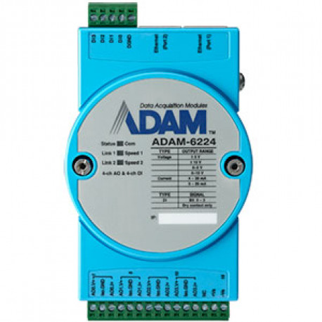 Advantech ADAM 6224 - 4 ch Analog OUT