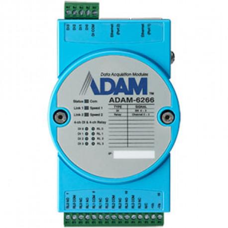 Advantech ADAM 6266 - 4 ch Relay OUT/ 4 ch D In