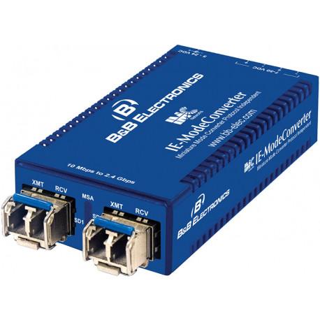 B+B IE-ModeConverter Fiber Mode Conv exkl. SFP