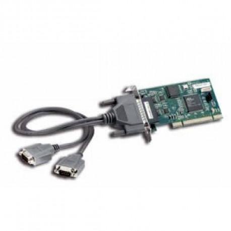 Quatech 2-port LP RS-232 Card