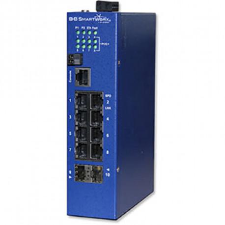 Advantech B+B Manag Eth Switch 8 PoE + 2 SFP Giga