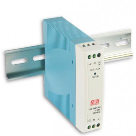 B+B Power Supply DIN Slim 24V DC 10W