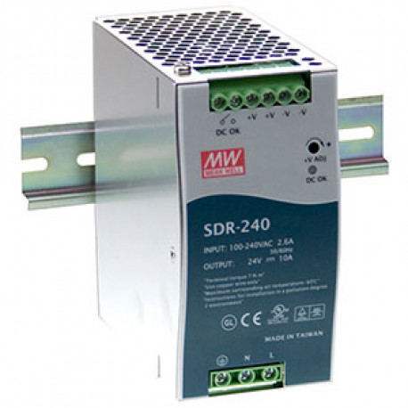 Advantech B+B Power Supply DIN PFC 48V 5A 240W