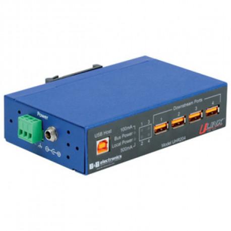 B+B U-Linx USB Hub 4 port Industriell