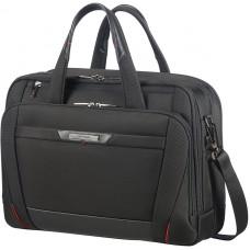 Samsonite Pro-DLX5 Lapt Bailh 15.6 tum Exp Black