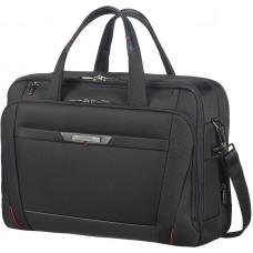 Samsonite Pro-DLX5 Lapt Bailh 17.3 tum Exp Black