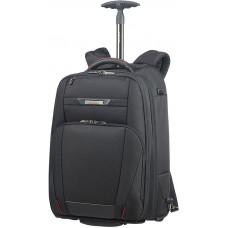 Samsonite Pro-DLX5 Lapt Backp Wheels 17.3tum Black