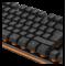 DELTACO GAMING tangentbord, membranbrytare, nordisk, orange belysning