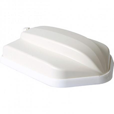 Panorama Fordon MIMO 5G + WiFi + 2xGPS + UHF White
