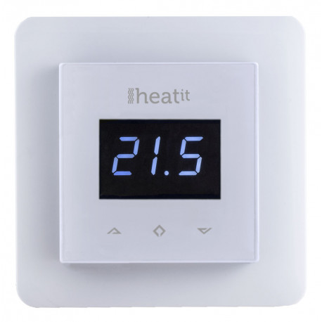 Heatit Z-Wave wall termostat - White