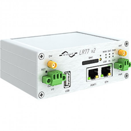 B+B SmartWorx LR77 4G LTE Router Basic metall