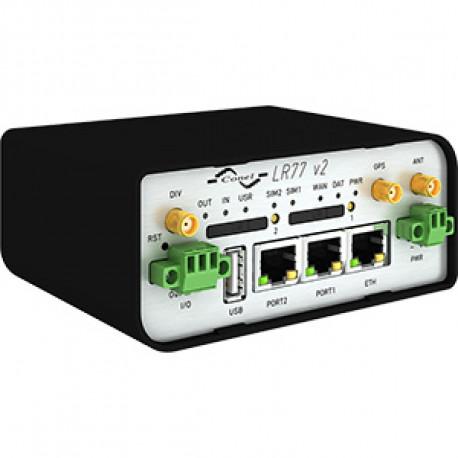 B+B SmartWorx LR77 4G LTE Router Full plast