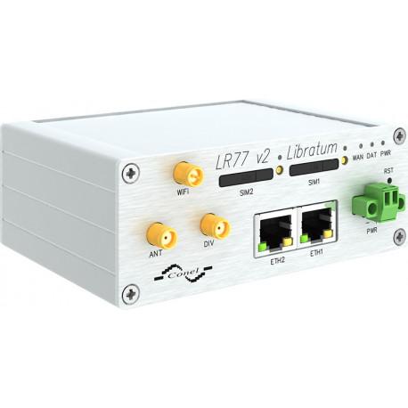 Conel LR77 Libratum 4G LTE Router WiFi metall