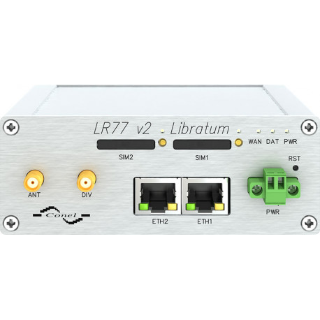 Conel LR77 Libratum 4G LTE Router metall