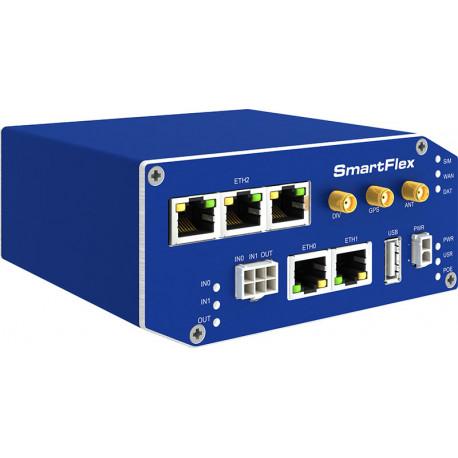 B+B SmartFlex 4G LTE Router 5 eth metall