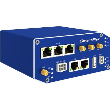 B+B SmartFlex 4G LTE 5 eth WiFi PoE PSE metall