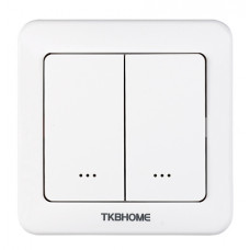 TKB Home Wallswitch with Dual Paddle Hemautomation