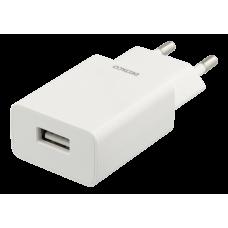 DELTACO Väggladdare 100-240V till 5V USB, 1A, 5W, 1xUSB-A port, vit Strömförsörjning