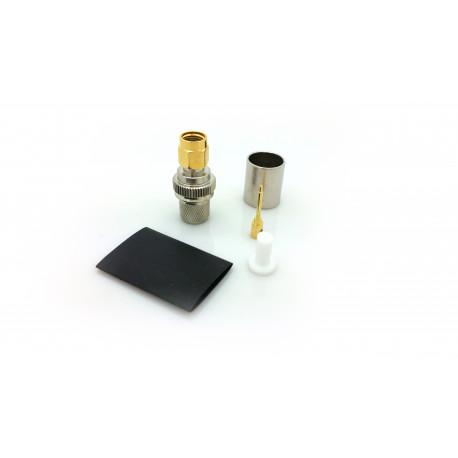SMA-hane LMR400 crimp kontakt