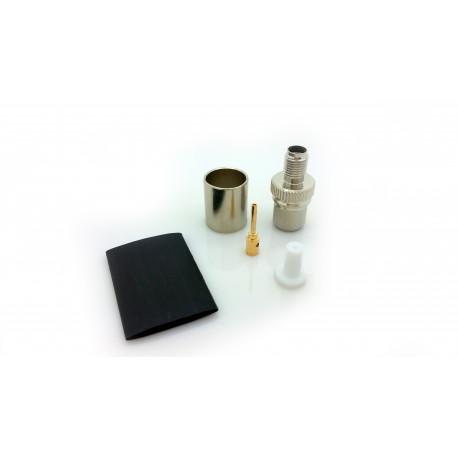 SMA-hona LMR400 crimp kontakt
