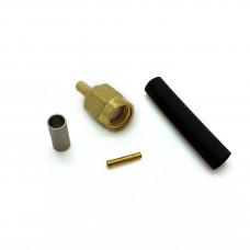 SMA-hane RG174 crimp kontakt Mobilt bredband