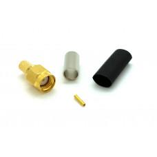 RP-SMA-hane crimp kontakt Mobilt bredband