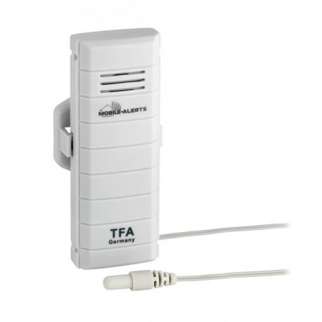 TFA Weatherhub Temperatursensor med vattentät temperatursond