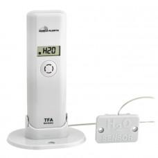 TFA Weatherhub Temperatur / luftfuktighetssensor med vattendetektor  Hemautomation