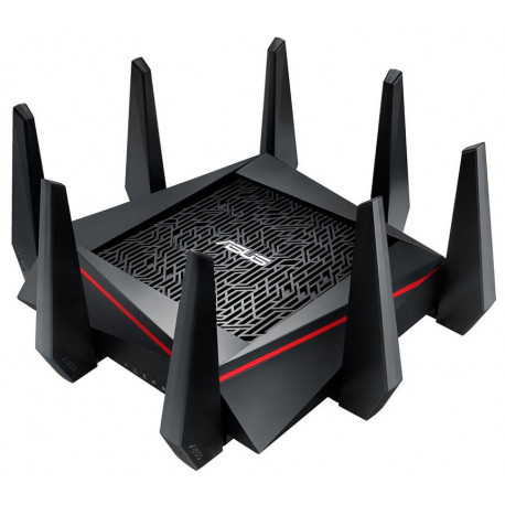 Asus RT-AC5300 Wireless Tri-Band Router, Ultra-Fast 802.11ac, 5334 mbps, 4x4mimo