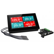 Panel Mountable Four-Channel Temperature Data Logger Dator & Elektronik