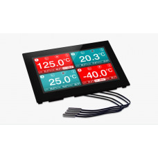 Panel Mountable Four-Channel Temperature Data Logger Dator & Elektronik