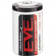 Batteri ER14250, 1/2AA 3.6V EVE